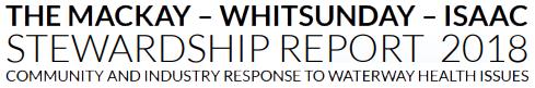 The Mackay–Whitsunday–Isaac Stewardship Report 2018 Logo